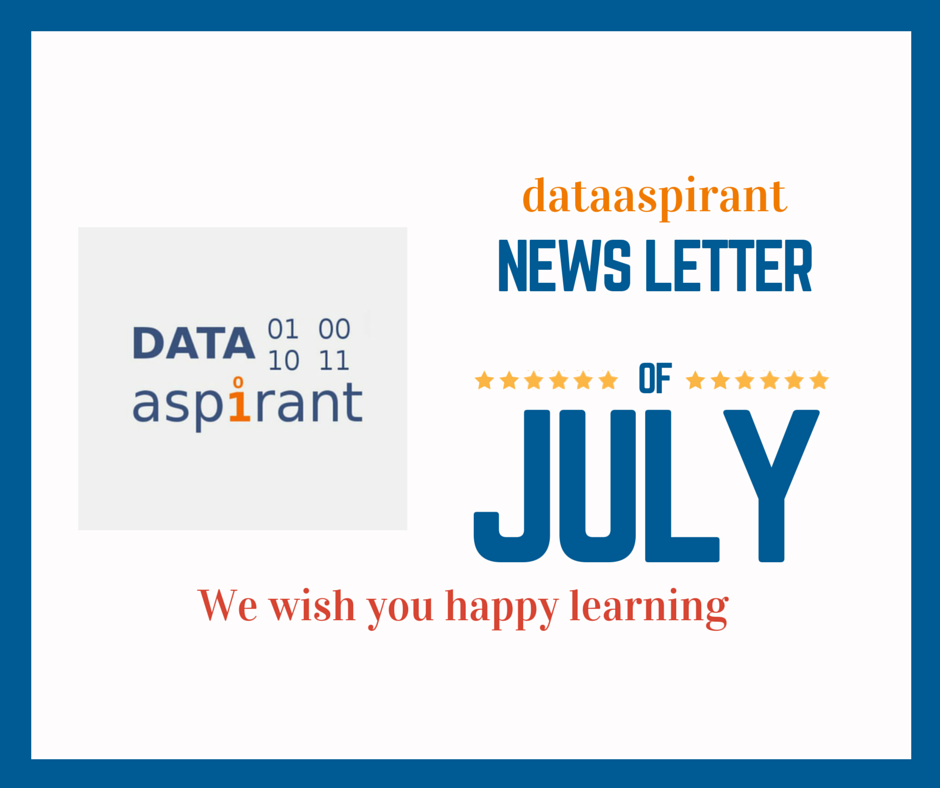 DataAspirant July2015 newsletter