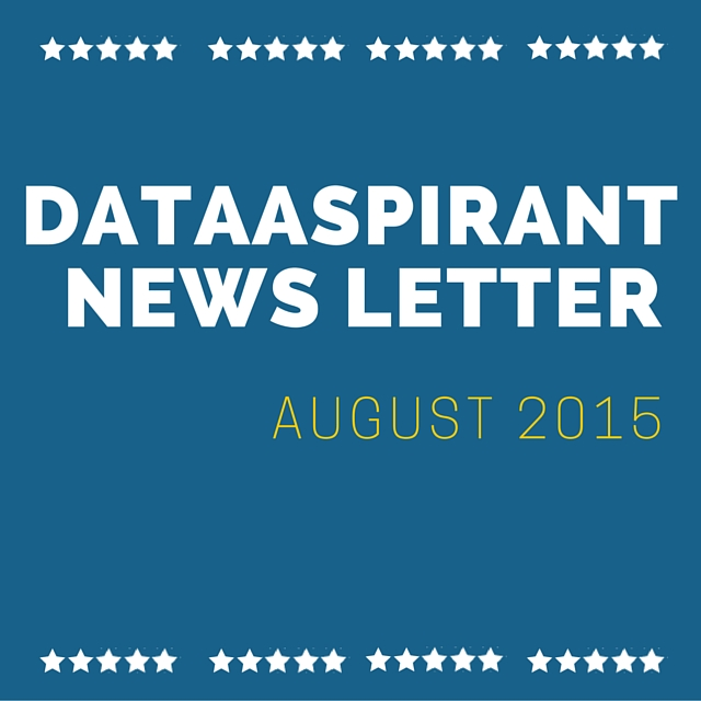 DataAspirant August2015 newsletter