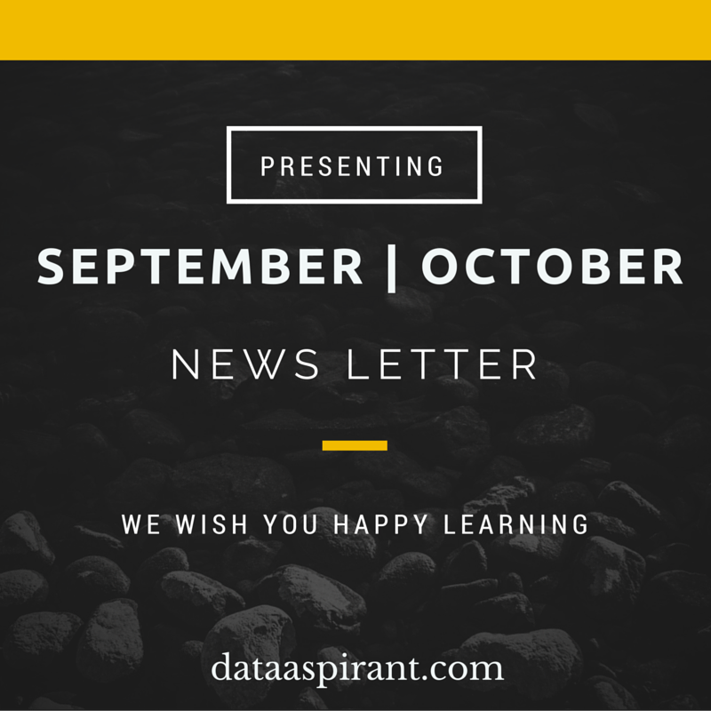DataAspirant Sept-Oct2015 newsletter