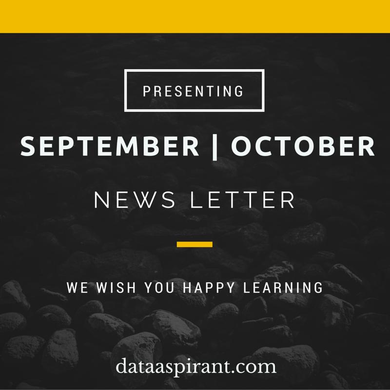 DataAspirant Sept-Oct2015 newsletter
