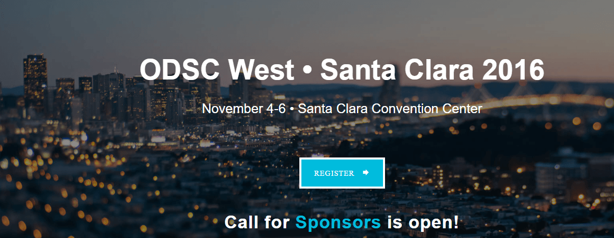 Data Science Conference – Santa Clara California 2016