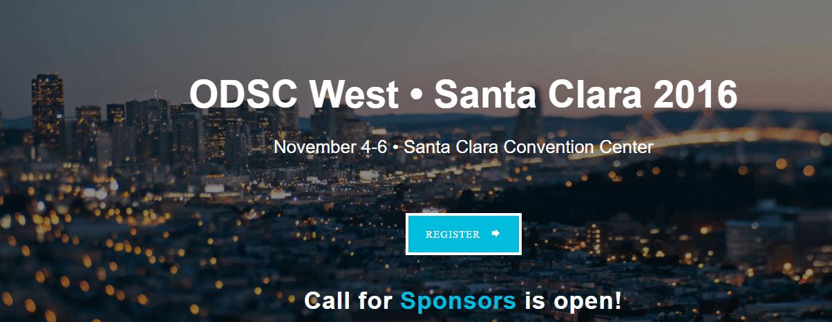 Data Science Conference – Santa Clara California 2016