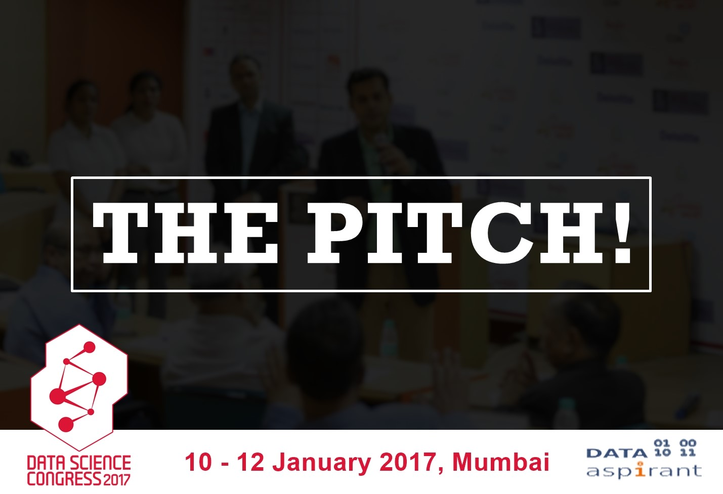 Pitch your Big Data Analytics startup at Data Science Congress 2017