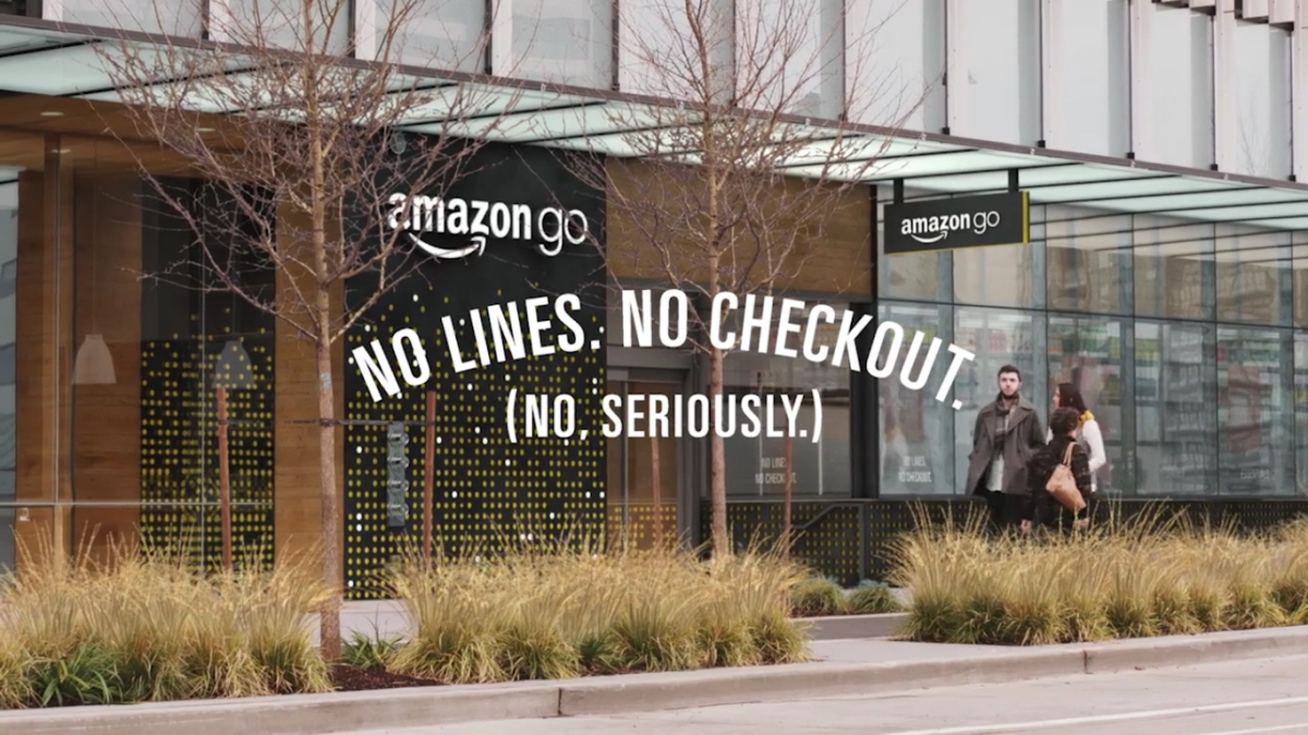 Amazon Go : The Just Walk out Technology