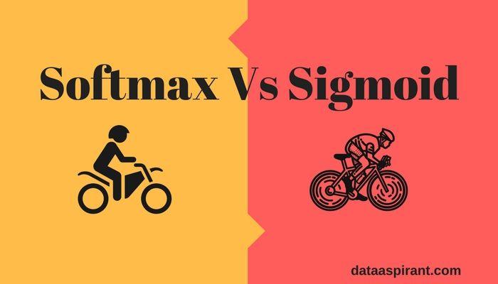 Softmax Functin Vs Sigmoid Function