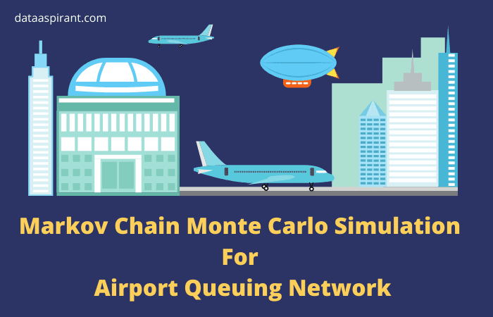 Markov Chain Monte Carlo Simulation For Airport Queuing Network